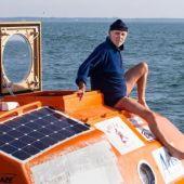 Jean-Jacques Savin en su barril