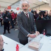 El candidato a la Presidencia del Athletic de Bilbao, Aitor Elizegi