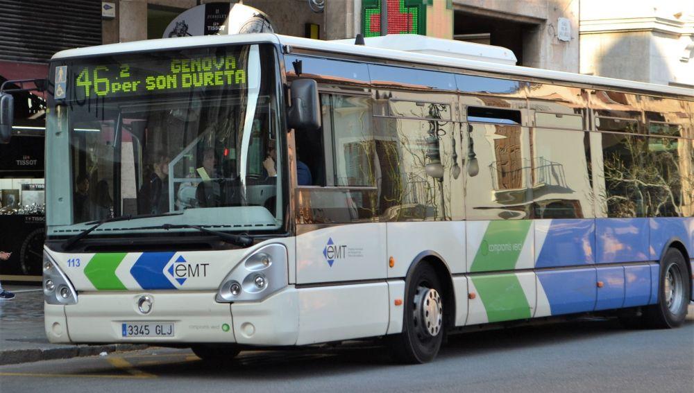 Autobús de la EMT de Palma