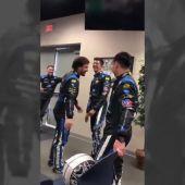 """El vacile de Fernando Alonso al conocer a su compañero en Daytona: """"Dije sí"""""""