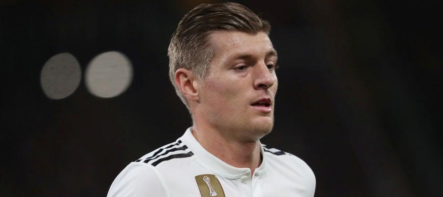 Toni Kroos, en un partido del Real Madrid
