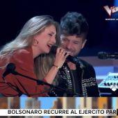 Arusitys - Programa 85 (08-01-19) Pablo López y Palomi, protagonistas del estreno de La Voz con su apasionada actuación sorpresa de 'Ángel caído'