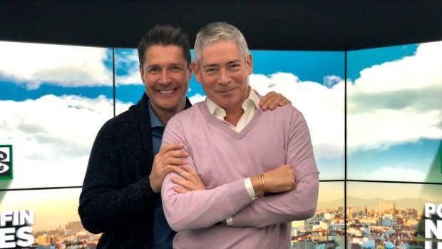 Boris Izaguirre y Jaime Cantizano