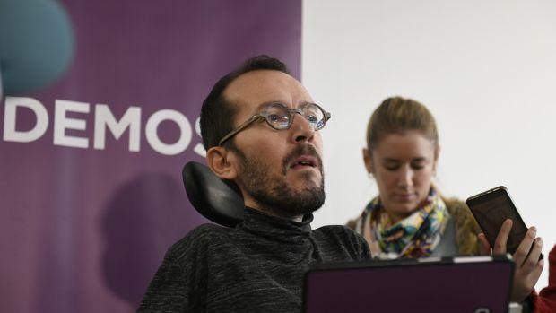 """Echenique pide """"pasar página"""" ante la crisis en Podemos abierta por Errejón"""
