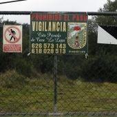 Vista de la finca 'La lapa', de la localidad sevillana de Burguillos