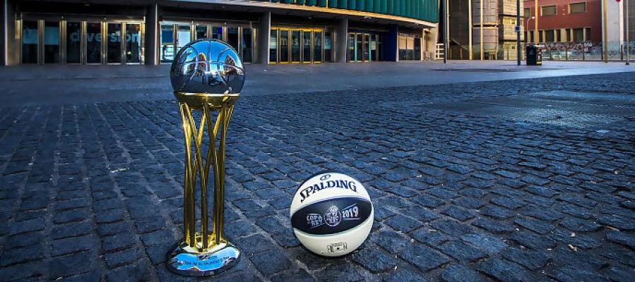 El trofeo de la Copa del Rey de baloncesto, en el Wizink Center