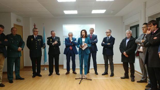 Inaguración Policia Autonómica en Ourense