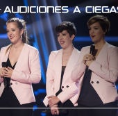 La Voz - Audiciones a ciegas 6 - Les Fourchettes cantan 'And so it goes' | Audiciones a ciegas