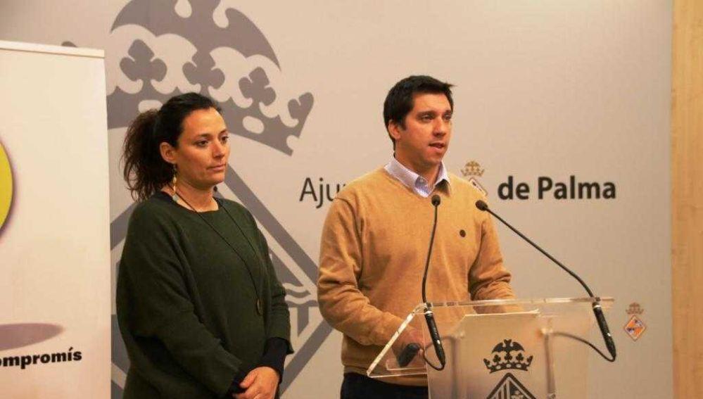 El regidor de Infraestructuras y Accesibilidad, Rodrigo A. Romero