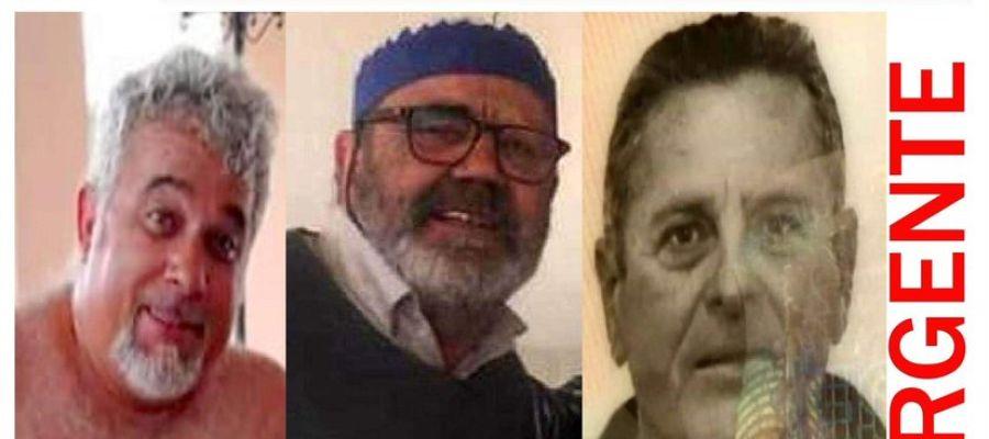Fernando Mogica, Álvaro Aguirre y Antonio Fernández desaparecidos desde el 5 de enero