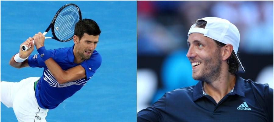 Djokoivic vs Pouille, semifinal del Open de Australia 2019