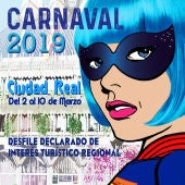 Cartel anunciador del Carnaval de Ciudad Real 2.019