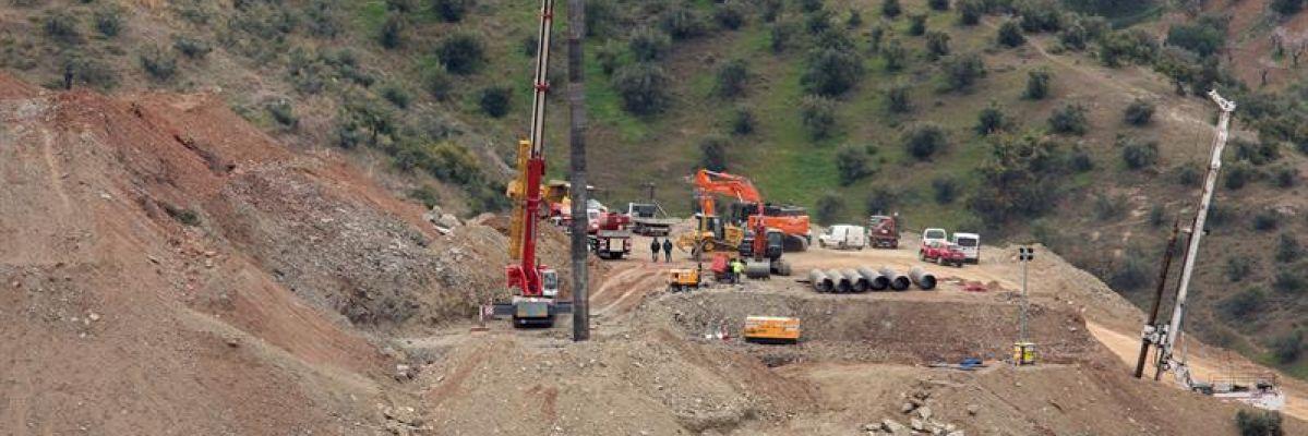 El operativo de rescate minero prevé este jueves la entrada en el túnel para encontrar a Julen