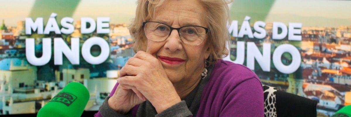 """Manuela Carmena: """"Los taxistas tienen razón, se ha incumplido la norma 1/30"""""""