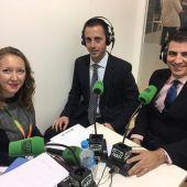 Llorenç Galmés, durante la entrevista en el programa Mallorca en la Onda, desde FITUR