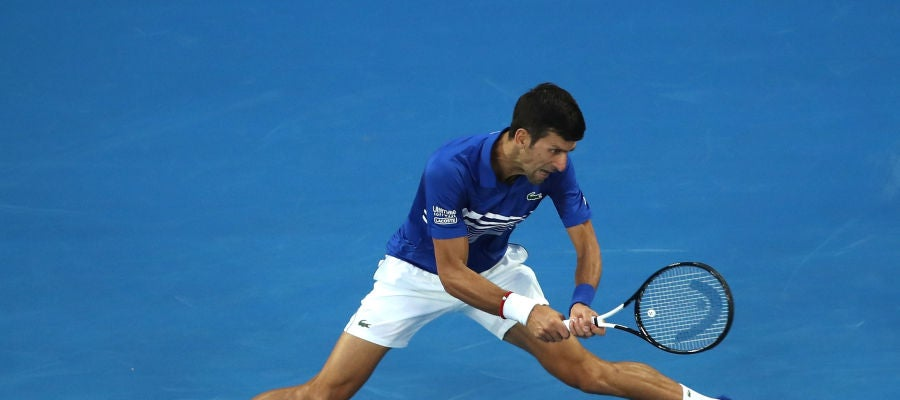 Novak Djokovic, contra Lucas Pouille