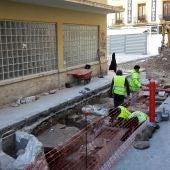 Excavaciones arqueológicas junto al Mercado Central de Elche.