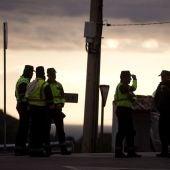 Varios guardias civiles en el lugar de búsqueda de Julen