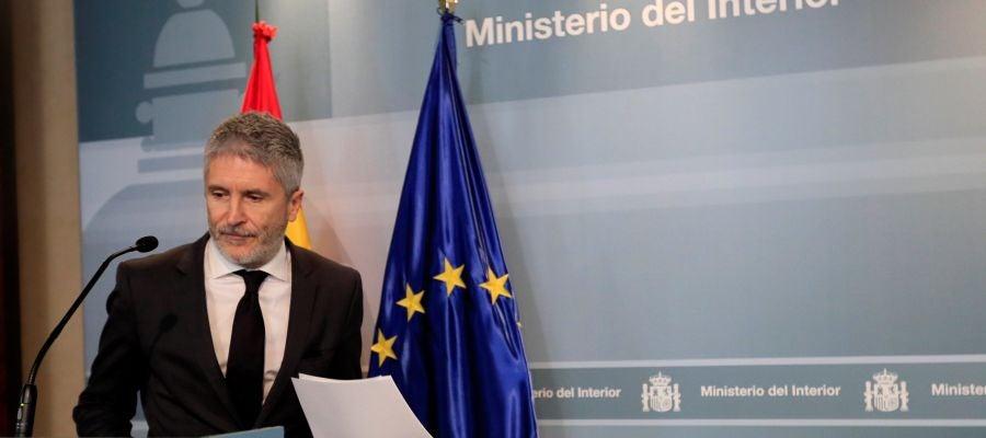 Imagen de archivo del ministro de Interior, Fernando Grande-Marlaska