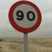 Límite de velocidad en carreteras secundarias