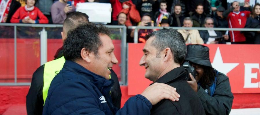 Valverde saluda a Eusebio