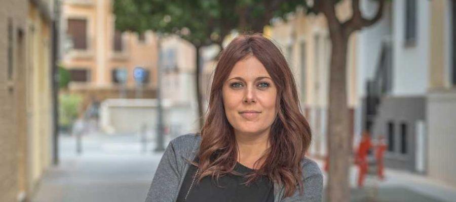 Elena Vera, coordinadora de Poble Ilicità y candidata a la Alcaldía de Elche en 2019