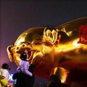 Celebración del año nuevo chino, el año del cero