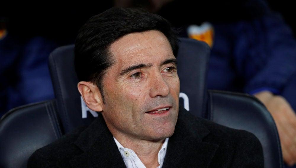 Marcelino García Toral, entrenador del Valencia