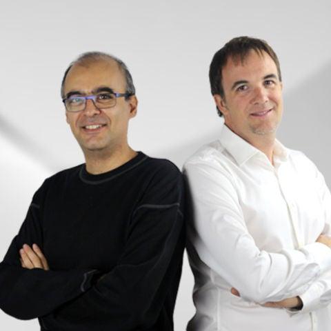 Omid Sokout y Víctor Franch