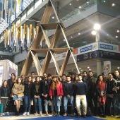 El alumnado de Arquitectura Técnica visita Cevisama en una actividad del Aula de Cerámica ASCER de la UJI