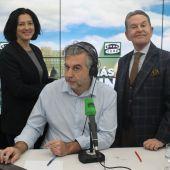 Carlos Alsina, Rosa Belmonte y Josemi Rodríguez Sieiro