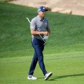 Sergio García, durante la disputa del torneo de golf