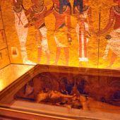 La tumba restaurada de Tutankamón