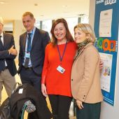 Francina Armengol, en la Comisión Europea, junto a los Presidentes de Córcega y Cerdeña