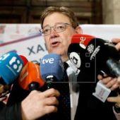 El President Ximo Puig ha atendido a los medios de comunicación