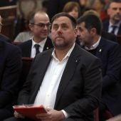 Oriol Junqueras, en el juicio al 'procés'