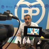 Vicente Granero, portavoz adjunto del PP en el Ayuntamiento de Elche