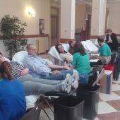 El maratón de donación de sangre se celebra en el Antiguo Casino