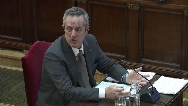"""Joaquim Forn: """"Defendí el referéndum, pero ningún acto de los Mossos fue contrario a la Constitución"""""""