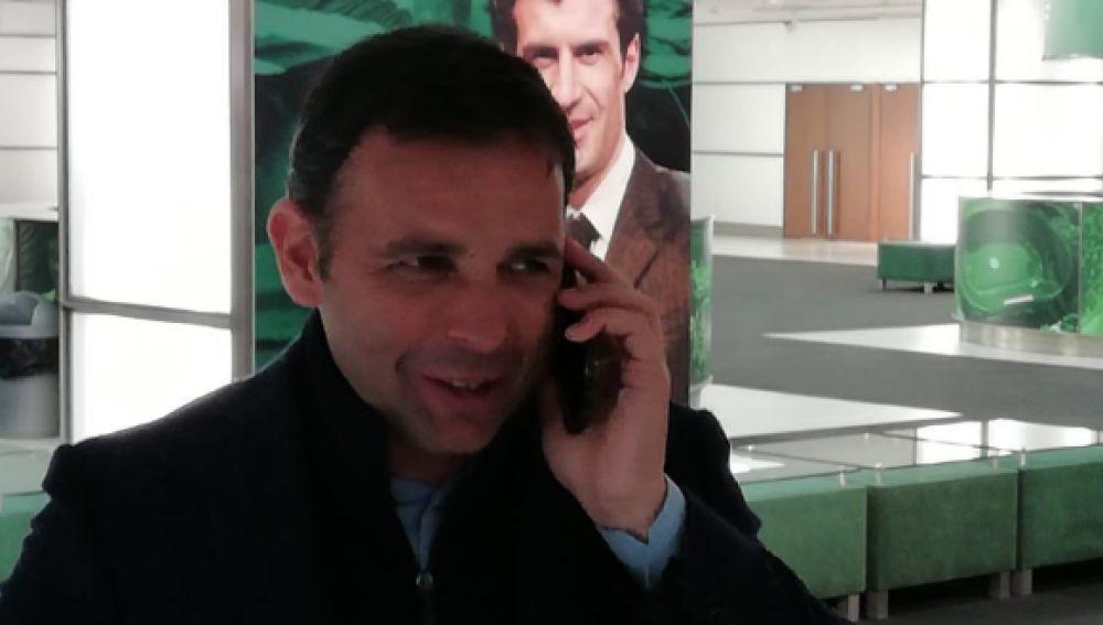 El entrenador del Villarreral, Javi Calleja.