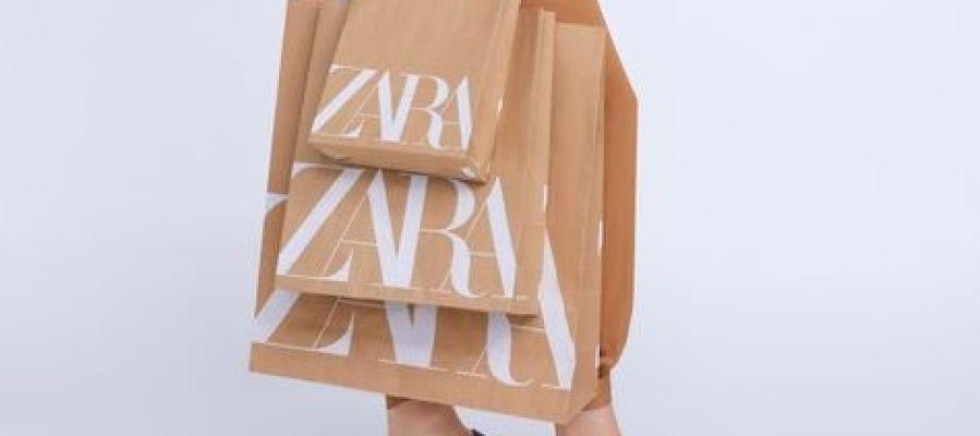 Zara sustituye sus bolsas de plástico por bolsas de papel reciclado