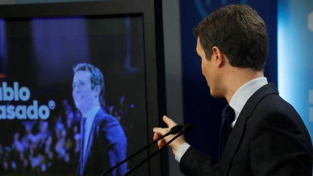 """Casado asegura que gracias al PP """"se ha detenido la venta de España a los independentistas"""""""