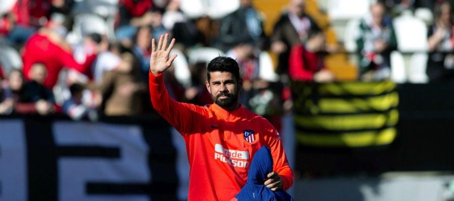 Diego Costa saluda