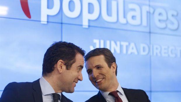 Pablo Casado asegura que es el PP quien le ha parado los pies a Pedro Sánchez