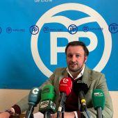 Pablo Ruz, portavoz del grupo municipal del PP de Elche.