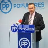 Adrián Fernández, portavoz del PP en la Diputación