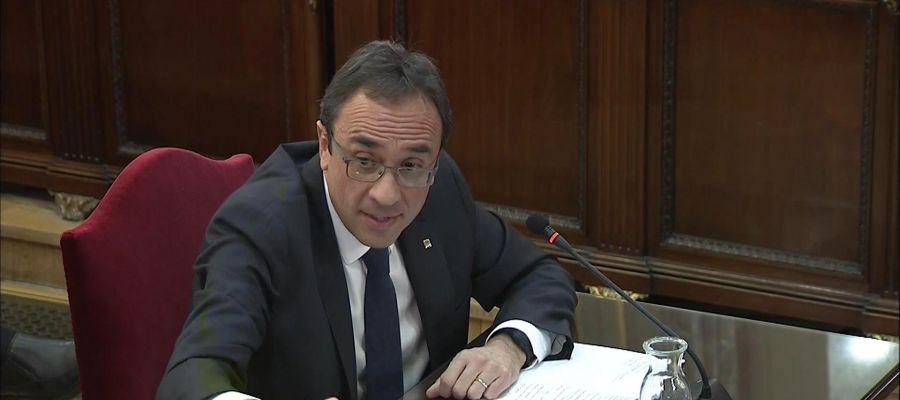 El exconseller, Josep Rull, declara en el juicio del 'procés'