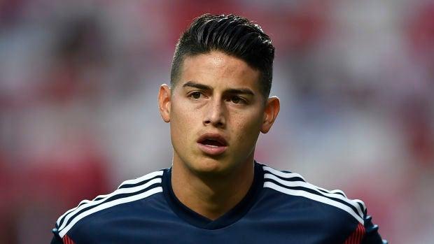 James Rodríguez quiere jugar en el Atlético y el Real Madrid no ve con buenos ojos la operación