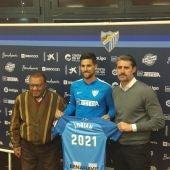 Adrián González, Ben Barek y Caminero
