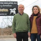 Los hermanos Isabel y Vicente Antón